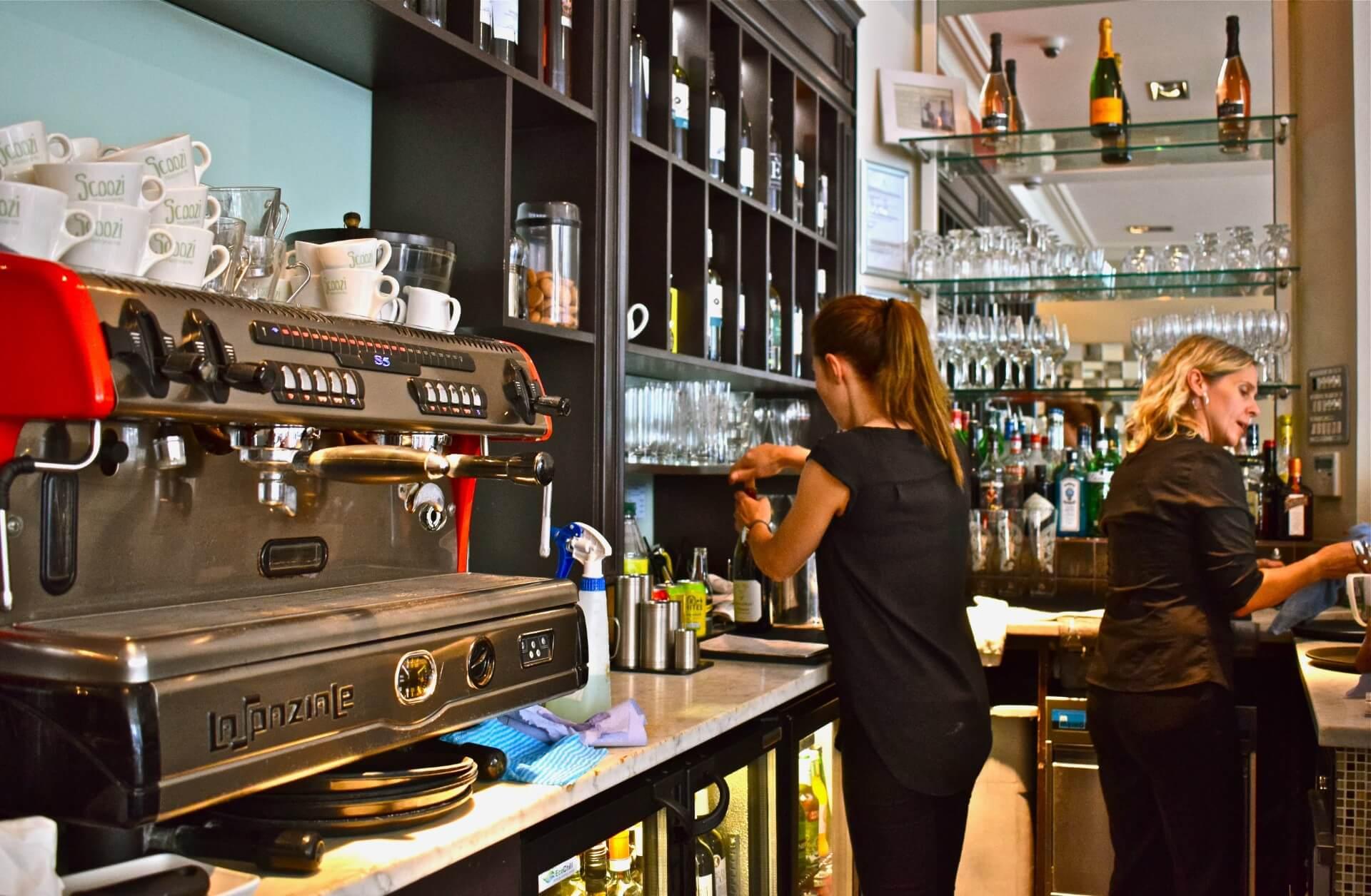 scoozi clevedon coffee machine